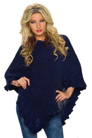 poncho din tricot