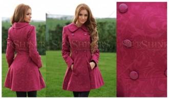 palton fuchsia roz