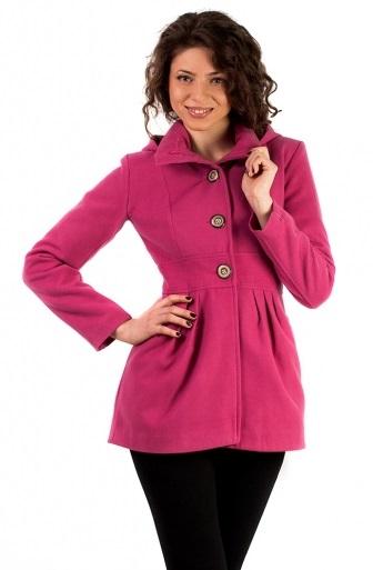 palton roz scurt