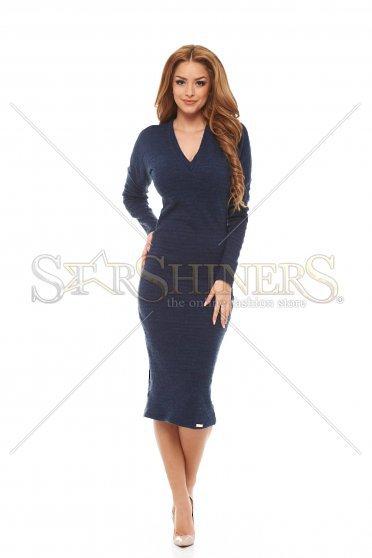 rochie tricotata lunga