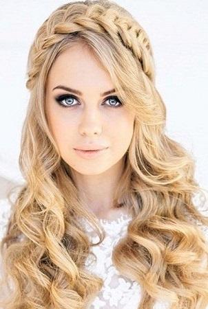Coafura par blond