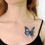 fluture 3d