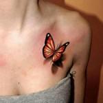 fluture tatuaj