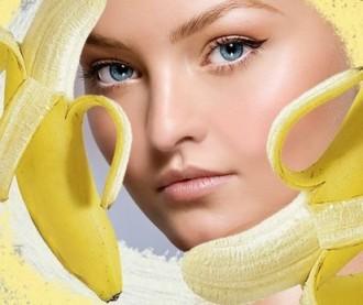 masca de fata cu banane