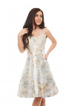 rochie alba ladonna