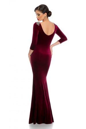 rochie eleganta catifea