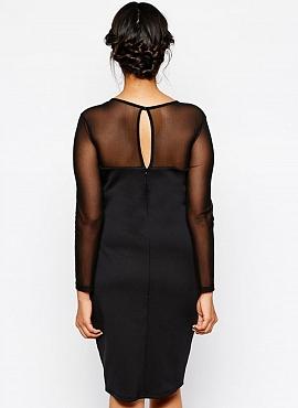 rochie neagra marime mare