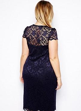 rochie bleumarin