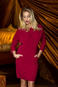 rochie ciclam