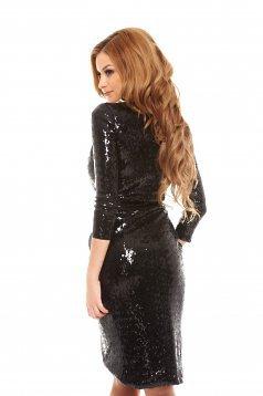 rochie neagra ladonna