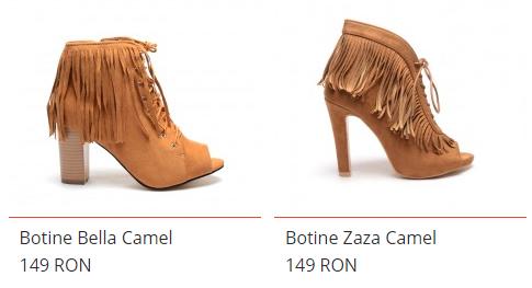 botine camel