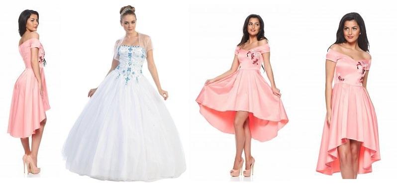 rochii-domnisoare onoare rose