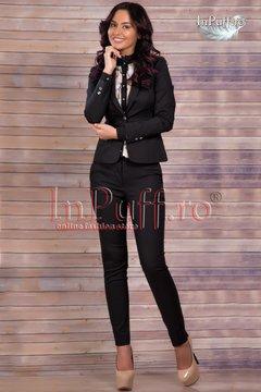 costum dama negru