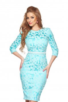 rochie turquoise