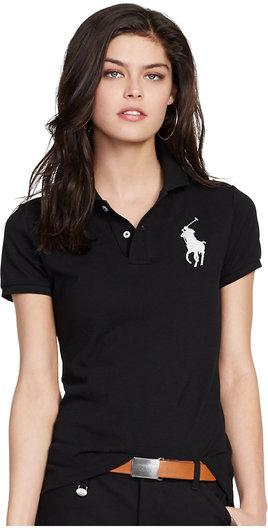 tricou negru polo