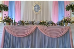 Decor de nunta Rose Quartz si Serenity