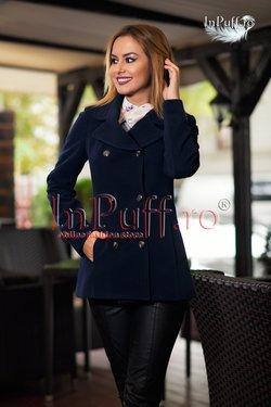 palton scurt elegant