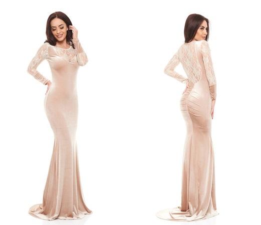 rochie din catifea