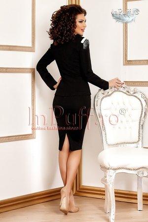 compleu negru elegant