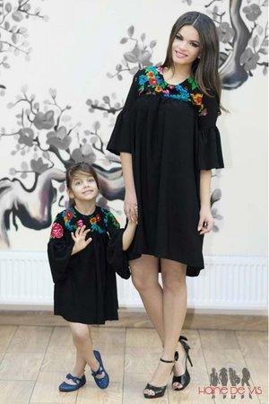 rochii negre mama fiica