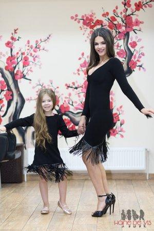 rochii negre mam -fiica