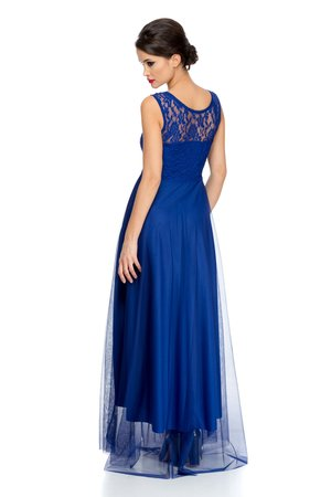 rochie lunga din tull