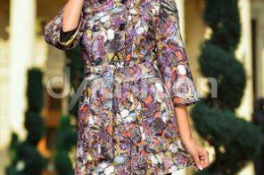 Paltoane dama elegante cu imprimeuri