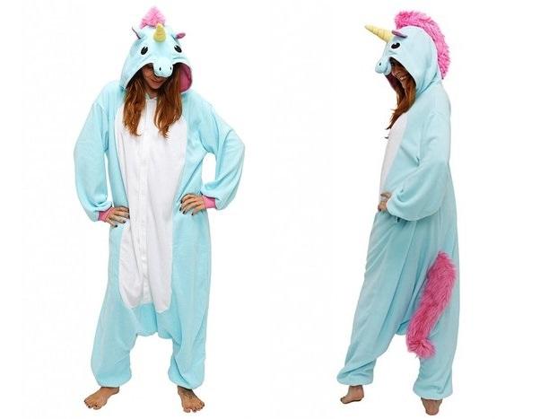 pijama dama unicorn
