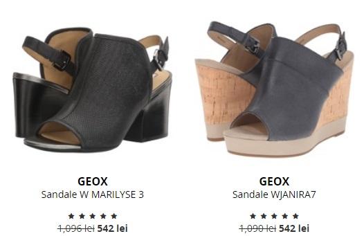 sandale cu platforma geox
