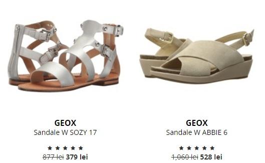 sandale din piele geox