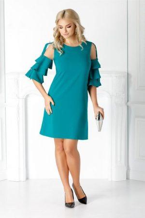 rochie turcoaz