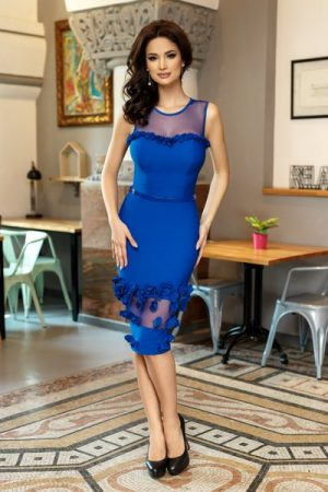rochie eleganta midi