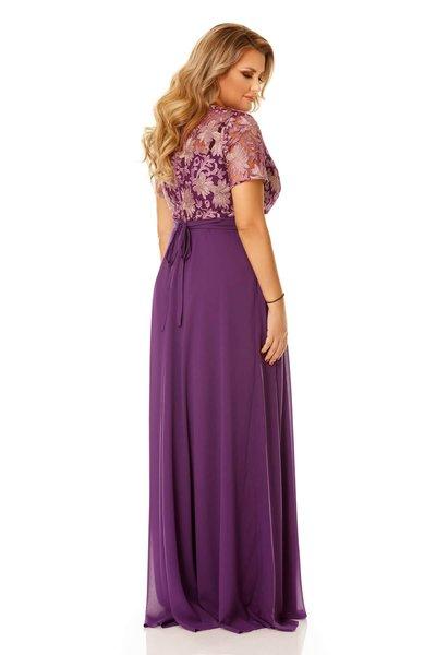 rochie lunga plus size