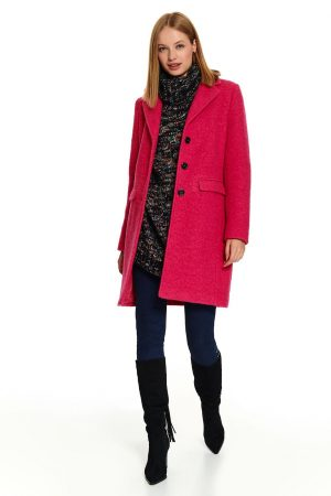 palton roz elegant