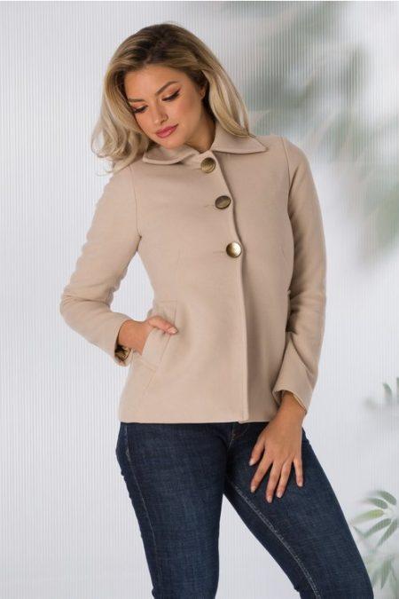palton dama scurt