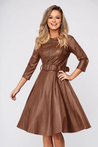 rochie piele ecologica