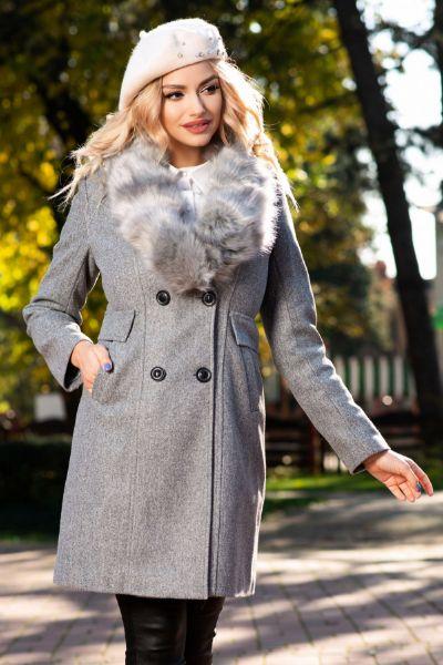 palton din stofa