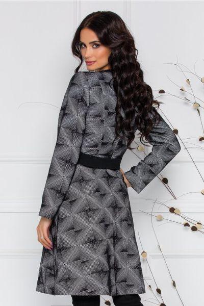 palton imprimeu