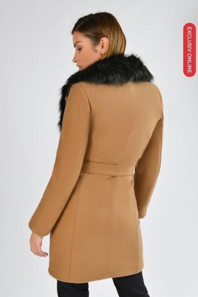 palton dama cu guler