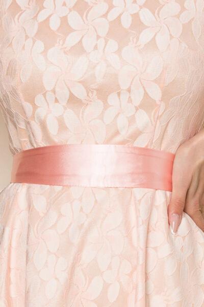 Rochie de ocazie midi din satin