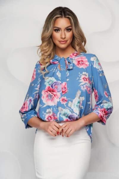 bluza-dama-cu-imprimeu-floral-