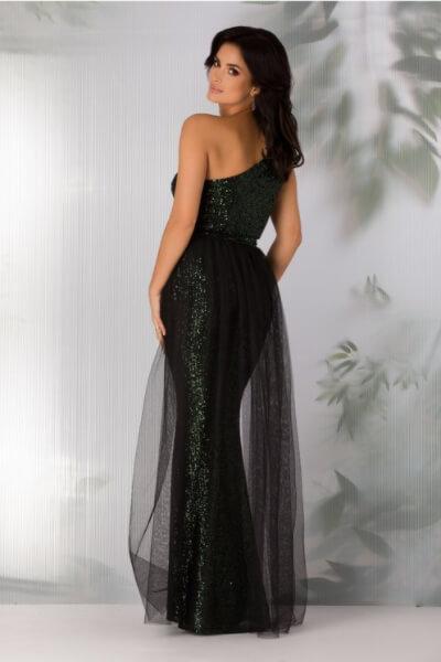 rochie cu paiete eleganta