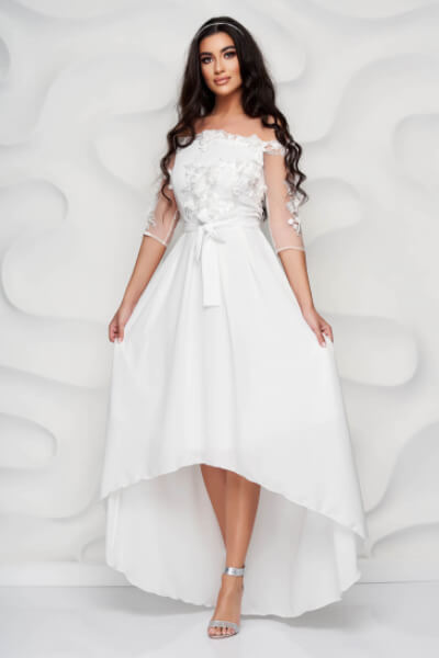 rochie de ocazie alba