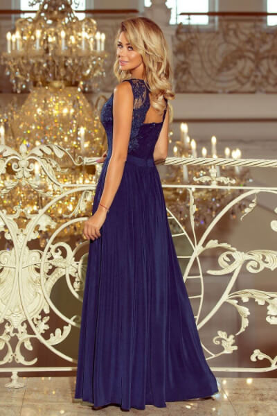 Rochie eleganta lunga cu dantela