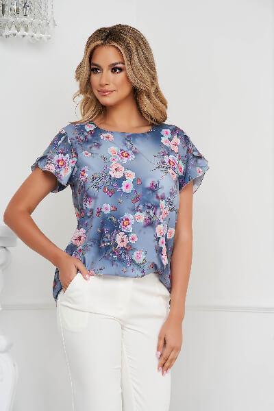 bluza dama material fin
