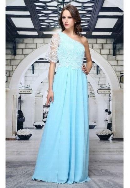 rochie de seara albastra