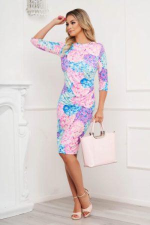 rochie din material elastic