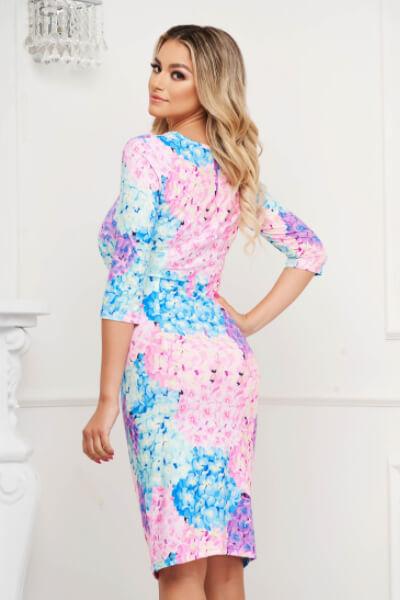 rochie din material elastic casual