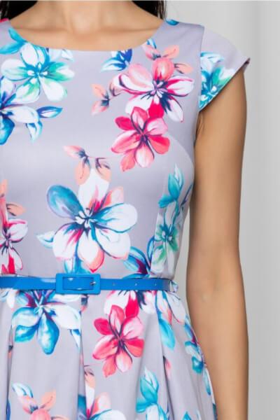 rochie gri de vara