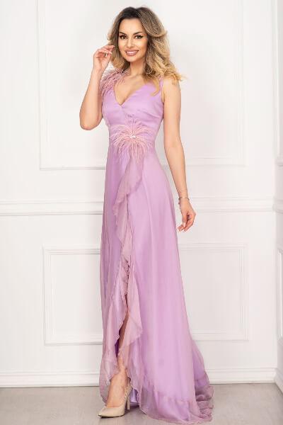rochie lunga tip printesa